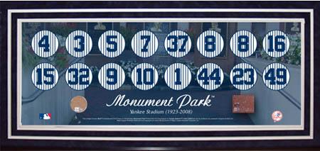 New YorkYankee Stadium Autograph Sports Memorabilia from Sports Memorabilia On Main Street, sportsonmainstreet.com