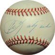 Carl Yastrzemski Autograph Sports Memorabilia, Click Image for more info!