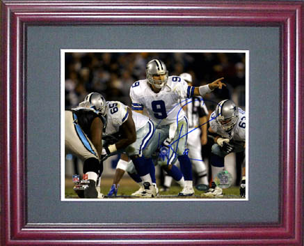 Tony Romo Autograph Sports Memorabilia from Sports Memorabilia On Main Street, sportsonmainstreet.com